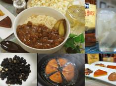 料理レッスン写真 - 【燻製実習!】ブラックペッパーとチーズ【燻製デモ】燻製キーマ玄米カレー