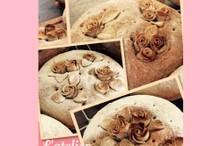 料理レッスン写真 - エレガントな「バラのパンデコレーション」でライブレッドをグレードアップ