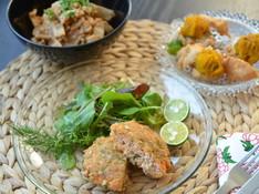 料理レッスン写真 - ★リクエスト日程追加★米ぬか衣の香草フライ&そば粉の手打ちパスタ