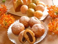 料理レッスン写真 - 春爛漫♪心がときめく季節は華やかランチ!三色パンと揚あんぱん