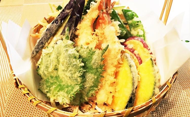 和食極みコース♪  サバの味噌煮・茶碗蒸し・天ぷら・肉豆腐・緑茶
