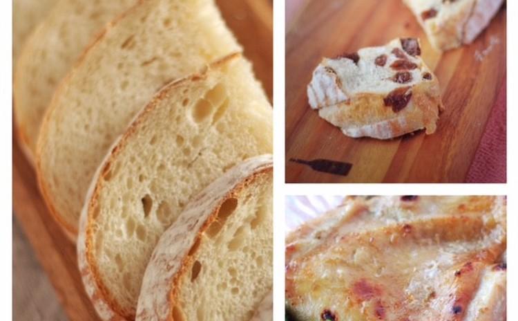 はるおとめで焼くムチムチパン!78%の高加水パン&レーズンパン♬