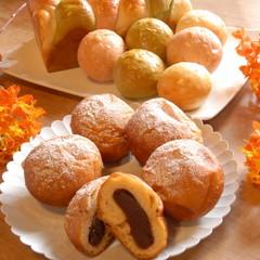 春爛漫♪心がときめく季節は華やかランチ!三色パンと揚あんぱん