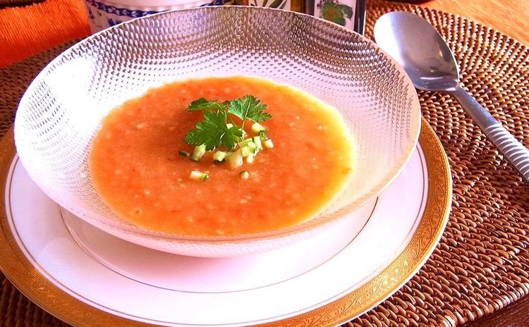 野菜たっぷり!冷たいスープ ガスパチョ