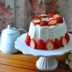 2台お持ち帰り! 真っ白な天使のケーキ~エンジェルズフードケーキ~