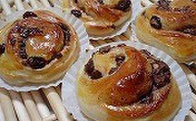 マンツーマンで学ぶチョコロールとあんパン作り♪初心者や男性もOK!