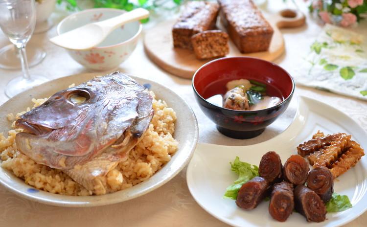 鯛めし&牛肉の干し柿巻きで簡単&豪華なおもてなし術をマスター☆