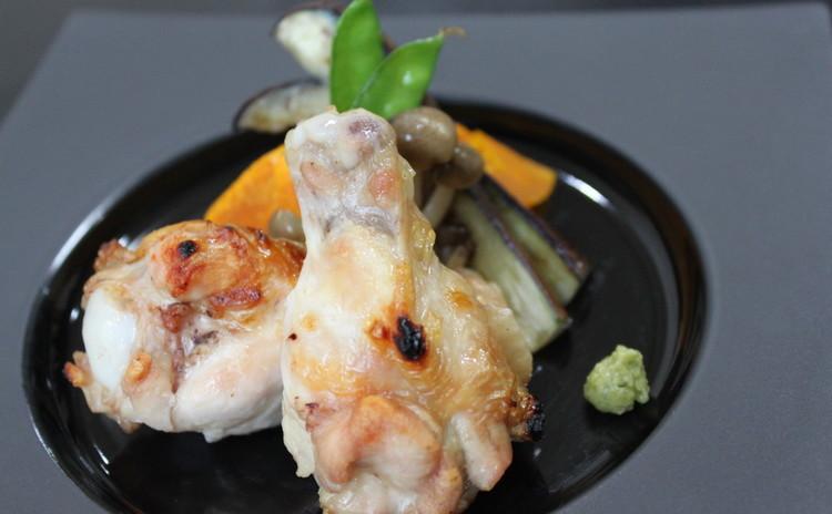主菜にも、副菜にも!鶏の塩焼き