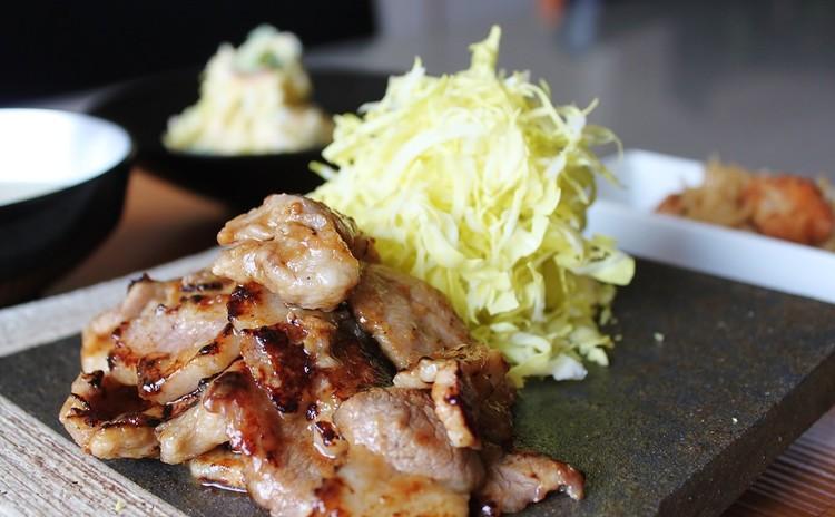 恋する豚の生姜焼き!絶品ポテトサラダと切り干し大根も。土日・夜レッスン