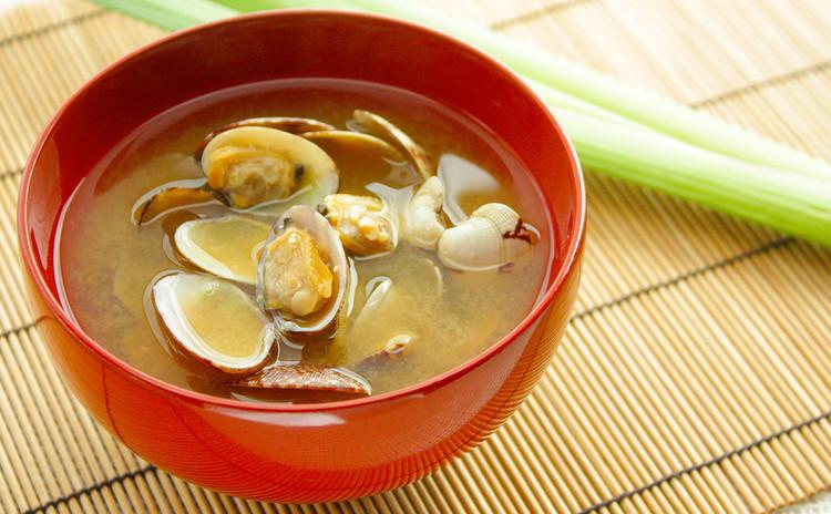 貝の味噌汁