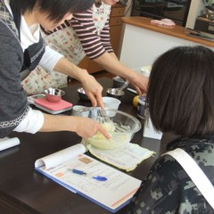 足立新田お菓子教室