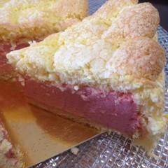 【お一人一台お持ち帰り】可愛いピンクのストロベリームースケーキ