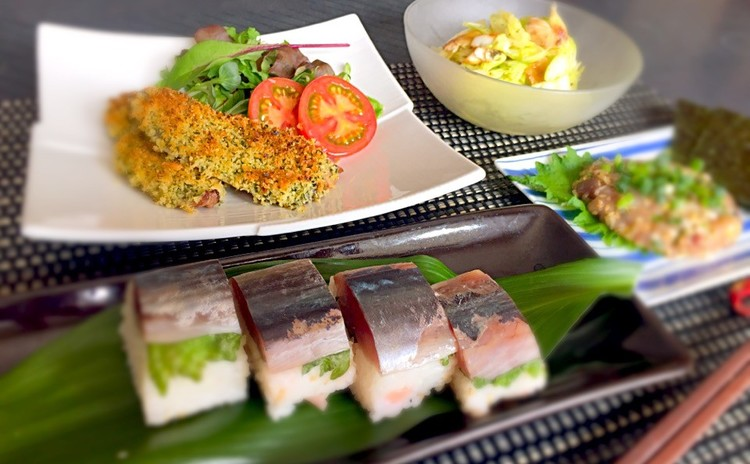 【日程追加】鯵をさばこう!基本の三枚おろしと鯵の棒寿司の鯵三昧の和献立