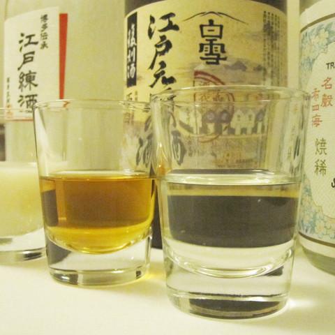 歴史ある酒を飲み比べ