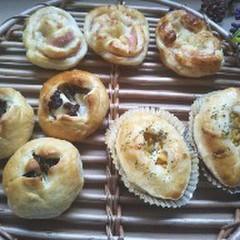 お惣菜パン 3種
