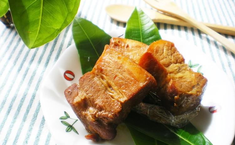 自家製酵母を料理に活用!ほっこり濃厚♥豚の角煮&茸の炊きこみご飯✿