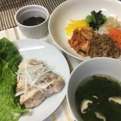 野菜たっぷりヘルシー韓国料理でおもてなし