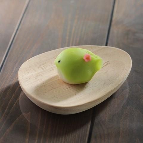 「春告げ鶏」練り切り製