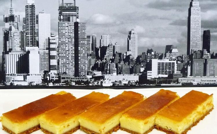 ステッィクタイプのおしゃれなニューヨーク・チーズケーキ!