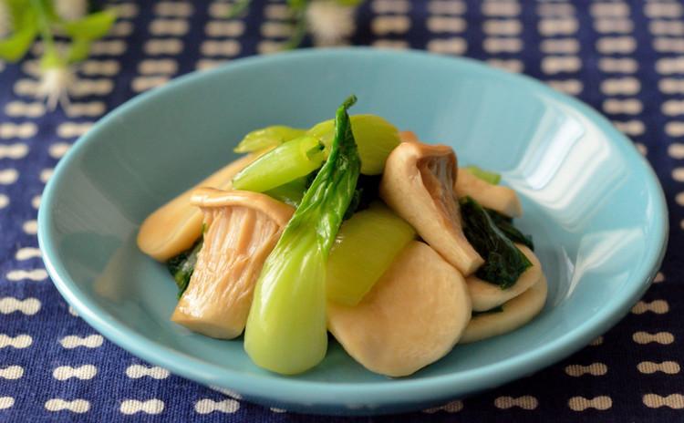 青梗菜とエリンギの中華風さっぱりおひたし