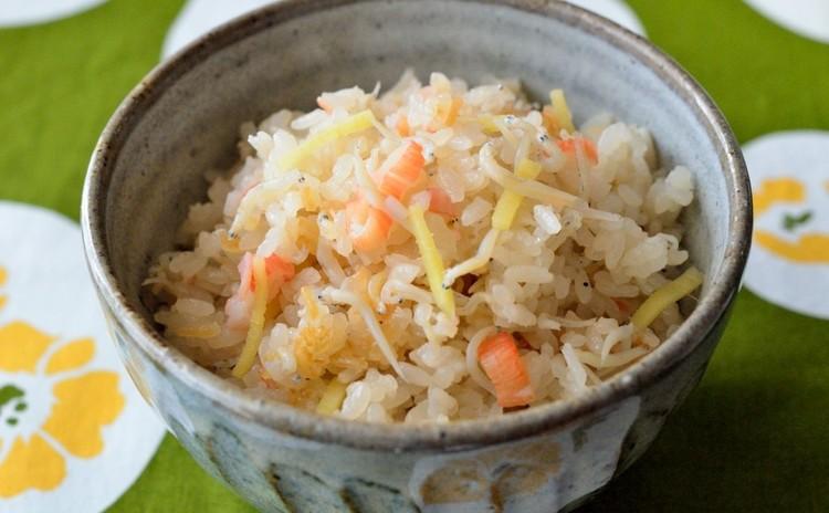 しらすと生姜の炊き込みご飯