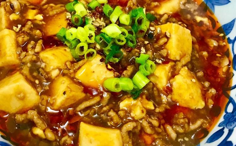 薄餅と麻婆豆腐と手作り皮の焼き餃子