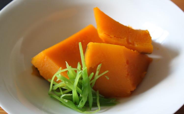 ほっこり癒やしの味。南瓜の甘煮