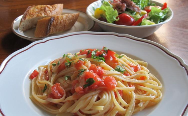 イタリアンドルチェを習って、まかないパスタを食べて帰ろう!