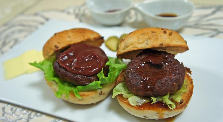 【燻製デモ】「燻製ミニハンバーガー」を作る!