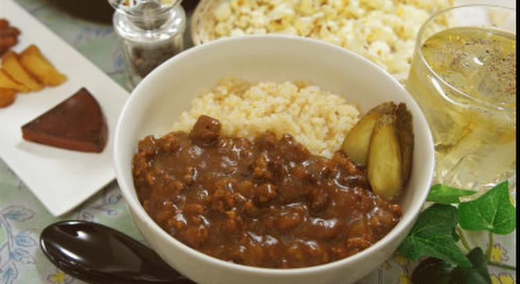 【燻製デモ】「燻製キーマ玄米カレー」を作る