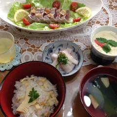 大根おろしを使った簡単あく抜きで「料亭の味筍ご飯」作り&出汁のとり方
