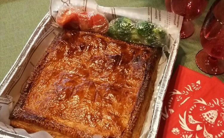 はじめてさんにも出来る、冷凍パイ生地を使った美味しい和風ミートパイ!