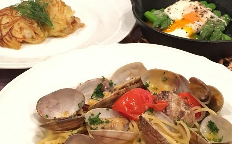 旬の食材を使ったイタリア料理