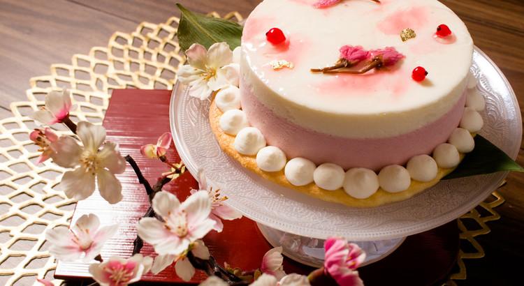 春爛漫!桜のチーズケーキ