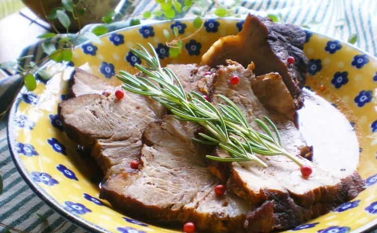 豚塊肉の赤ワイン煮