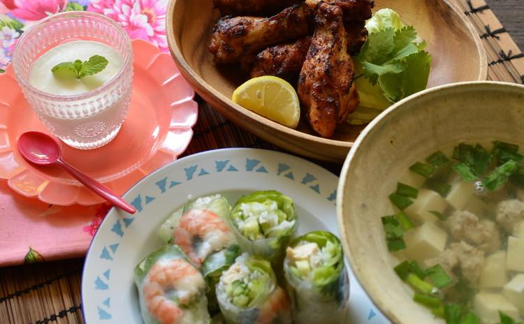ベーシックなベトナム料理をおうちでも作れるレッスンです。