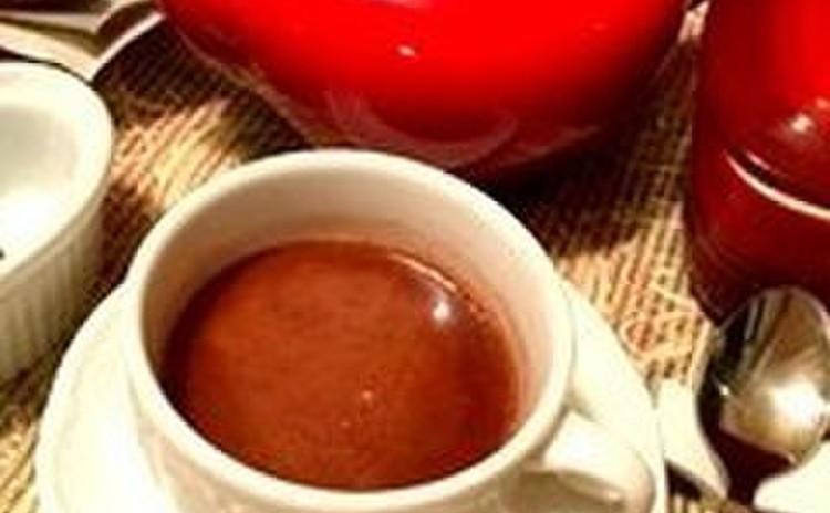 ☆ホットチョコレートドリンク