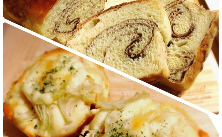 バターロール生地使用!バライティーパンを作ろう!