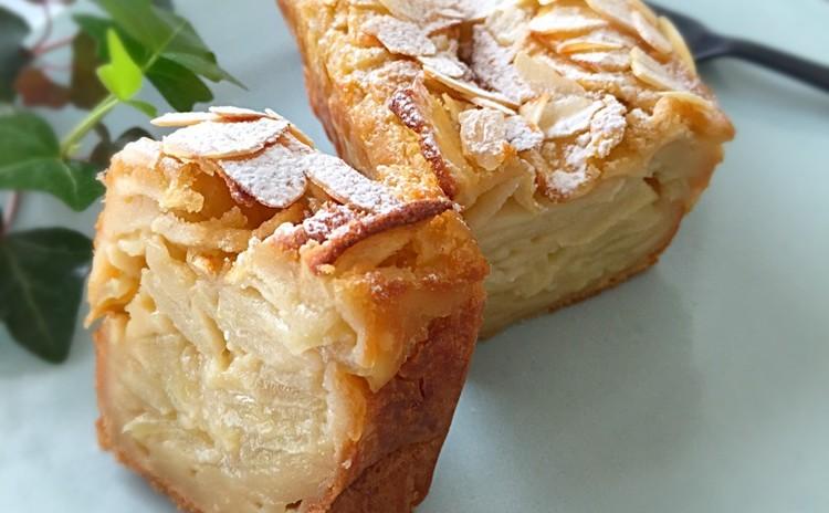 フランスのお菓子!林檎&じゃがいもとハーブのガトーインビジブル