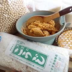 今季最後の「雑穀大豆味噌・おから味噌の作り比べ」