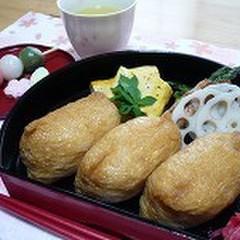 いなり寿しと茶碗蒸しの定番メニューで和食の基礎をマスターしましょう