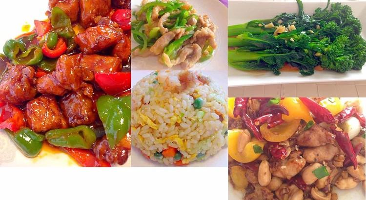 中華の人気メニュー5品♪作ります。