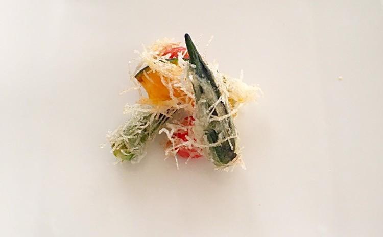 サクサク春雨衣の野菜フライ