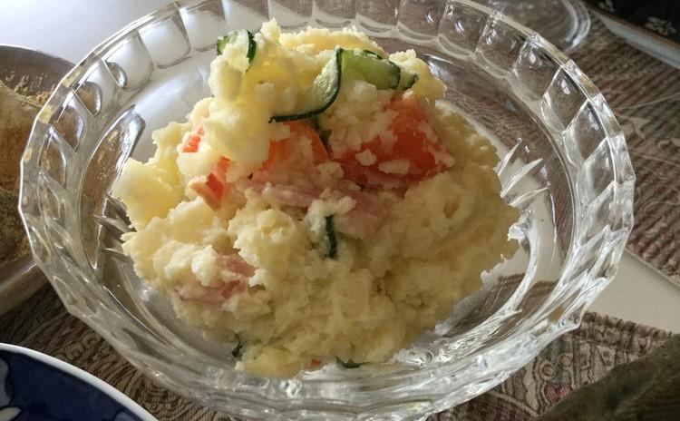 ☆お気に入りの素朴なポテトサラダ