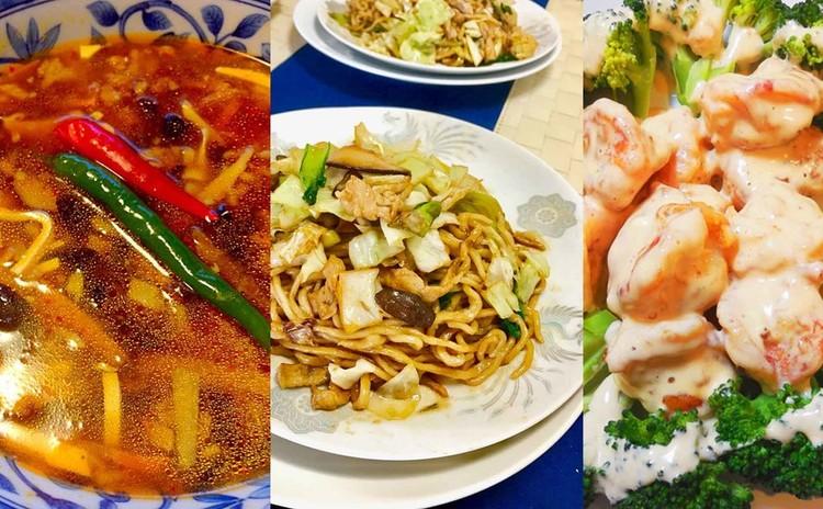 手打ちで作る上海焼きそば&サンラータン&蝦マヨレッスン