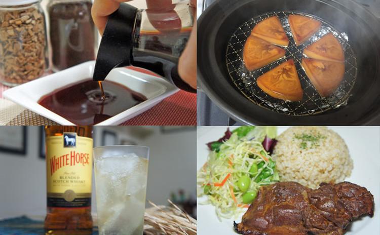 【燻製実習!】醤油とチーズ【燻製デモ】燻製チキンプレート