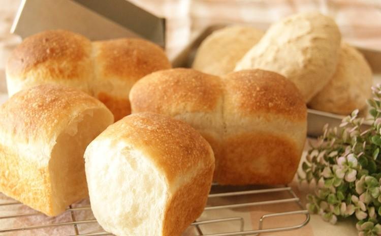 豆乳とはちみつで作る♪ミニ食パンと揚げないきなこパン