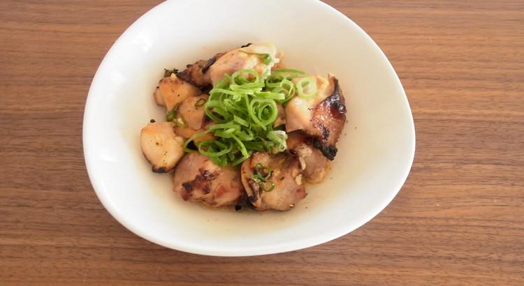 ぷりぷり鶏の塩麹焼き