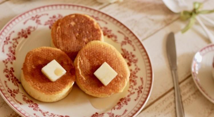 おやつの定番!ホットケーキと可愛い目玉焼きクッキー♫