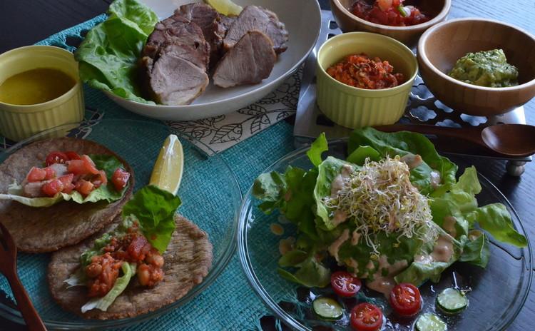 ★100%ナチュラル★野菜たっぷり&米粉やお味噌を使ったメキシカン料理